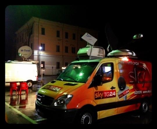 michele moro open-innovator.net terremoto maggio 2012 ferrara comune di Sant'agostino troupe sky