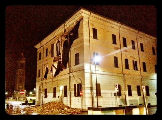 michele moro open-innovator.net terremoto maggio 2012 ferrara Comune di Sant'Agostino