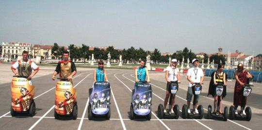 2GIS marketing non convenzionale guerrilla marketing Padova segway