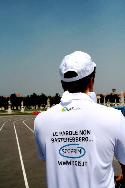 2GIS marketing non convenzionale guerrilla marketing Padova segway le parole non basterebbero