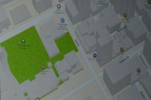 Anteprima mappa Apple 3D di una città americana