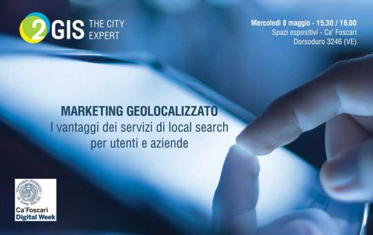 2GIS-digital week 2013 - 8 maggio 2013 - Michele Moro - marketing geolocalizzato e local search