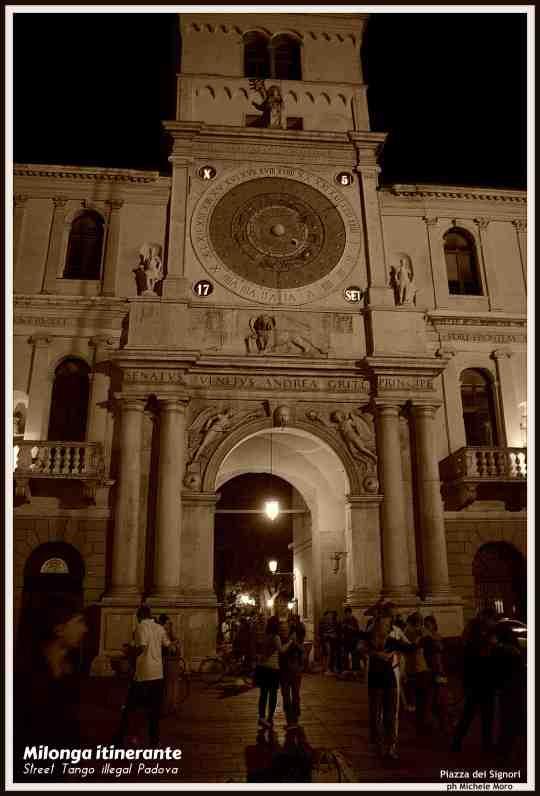 Milonga itinerante PADOVA - 17 settembre 2014 - Street Tango illegal Padova - Piazza dei Signori