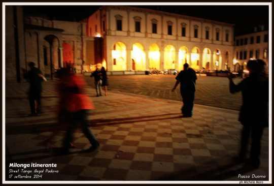 Milonga itinerante PADOVA - 17 settembre 2014 - Street Tango illegal Padova - Piazza del Duomo
