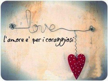 amore per i coraggiosi - I Love tango .it